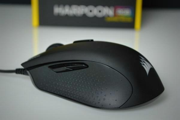 Corsair Harpoon botones