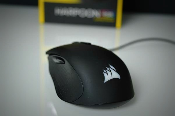 Corsair Harpoon vista trasera