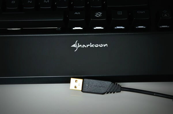 Sharkoon SGK1 usb oro