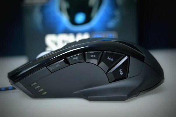 Sharkoon SGM1 botonera lateral