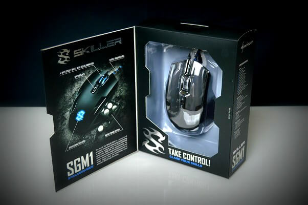 Sharkoon SGM1 interior caja