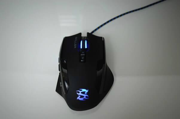 Sharkoon SGM1 led azul