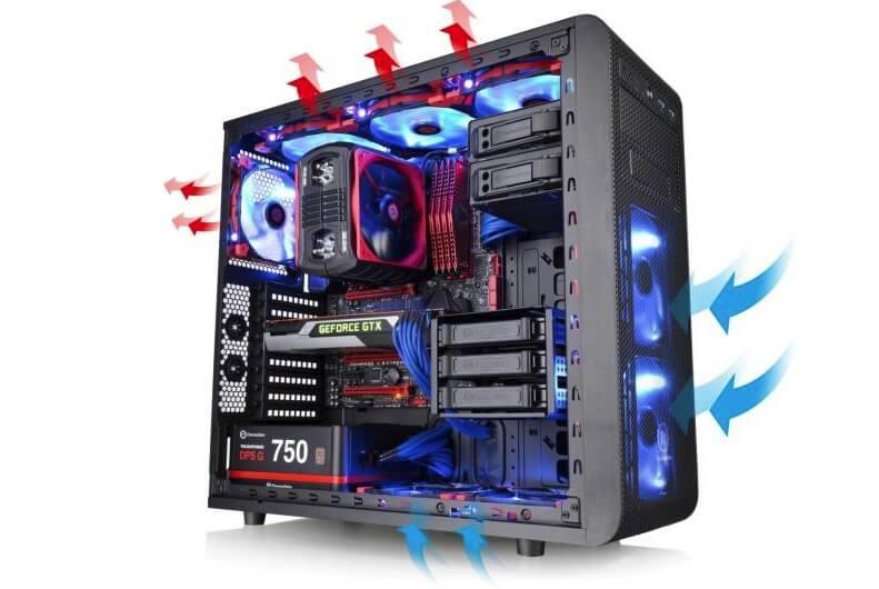 capacidad de refrigeracion ordenador gaming