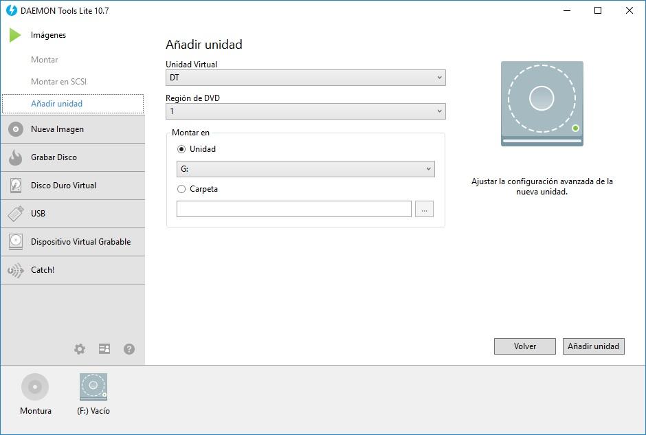 configurar daemon tools