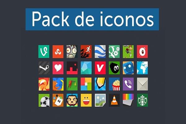Pack iconos Windows