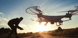 Como funciona un drone